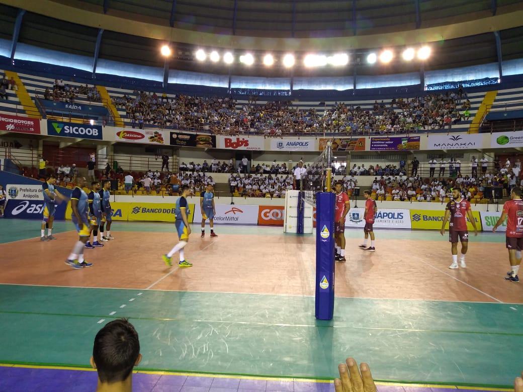 Anápolis estreia com vitória na Superliga B de Voleibol