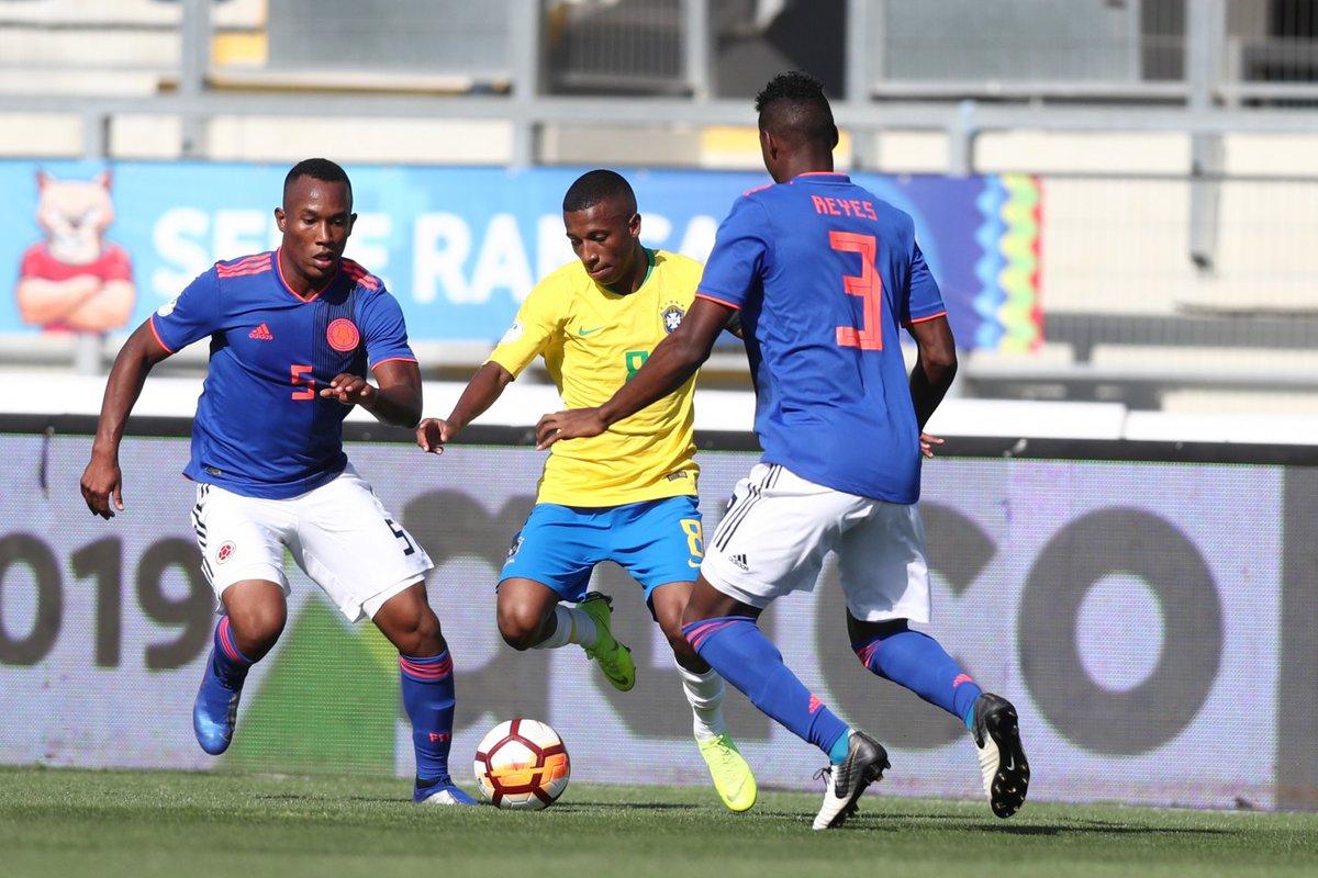 Brasil estreia com empate no Hexagonal Final do Sul-Americano Sub-20