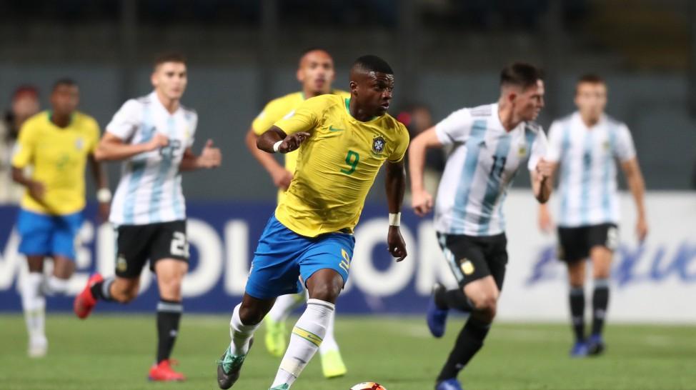 Brasil Sub-20 vence a Argentina, mas não garante vaga no mundial