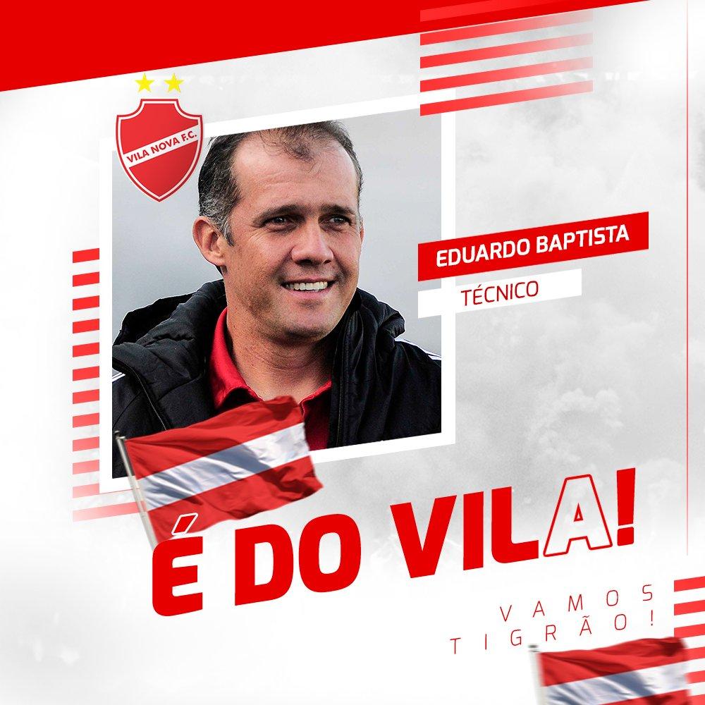 Fim de mistério, Vila Nova confirma treinador para a sequência da temporada