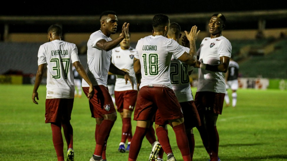 Fluminense goleia o River e se classifica para a segunda fase da Copa do Brasil