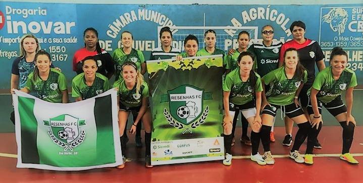 Resenhas FC fica em 3º lugar no Torneio de Futsal Feminino em Gouvelândia