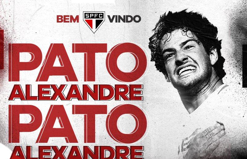 Alexandre Pato de volta ao São Paulo!