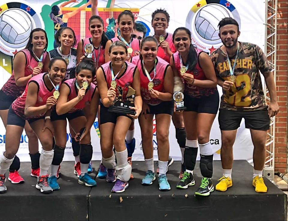 AERV Voleibol conquista a 1ª etapa da Liga Lince 1ª Divisão