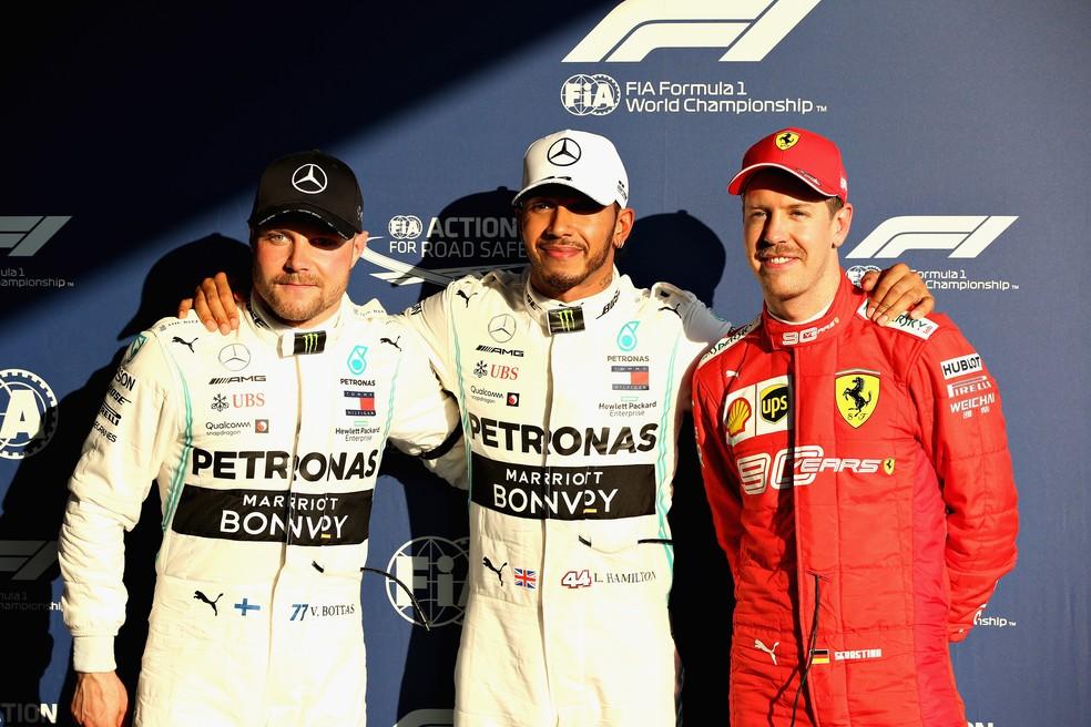 Sem novidades: Hamilton largará na frente na 1ª corrida da temporada de Fórmula 1