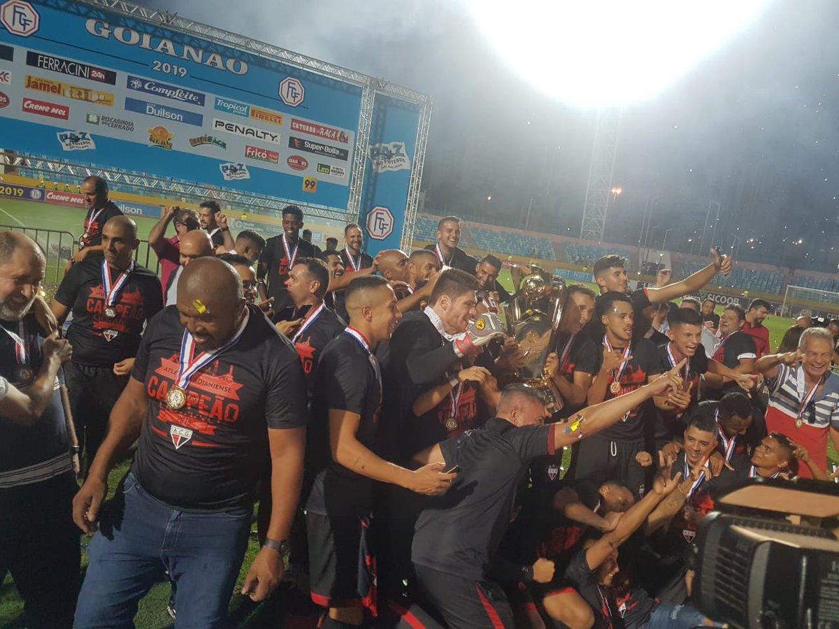 Atlético conquista seu décimo quarto título goiano