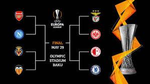 Arsenal, Benfica, Chelsea e Valencia vencem pela Europa League