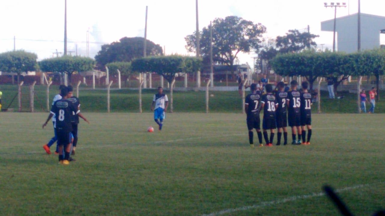 Independente empata em casa pelo Campeonato Goiano Sub-15