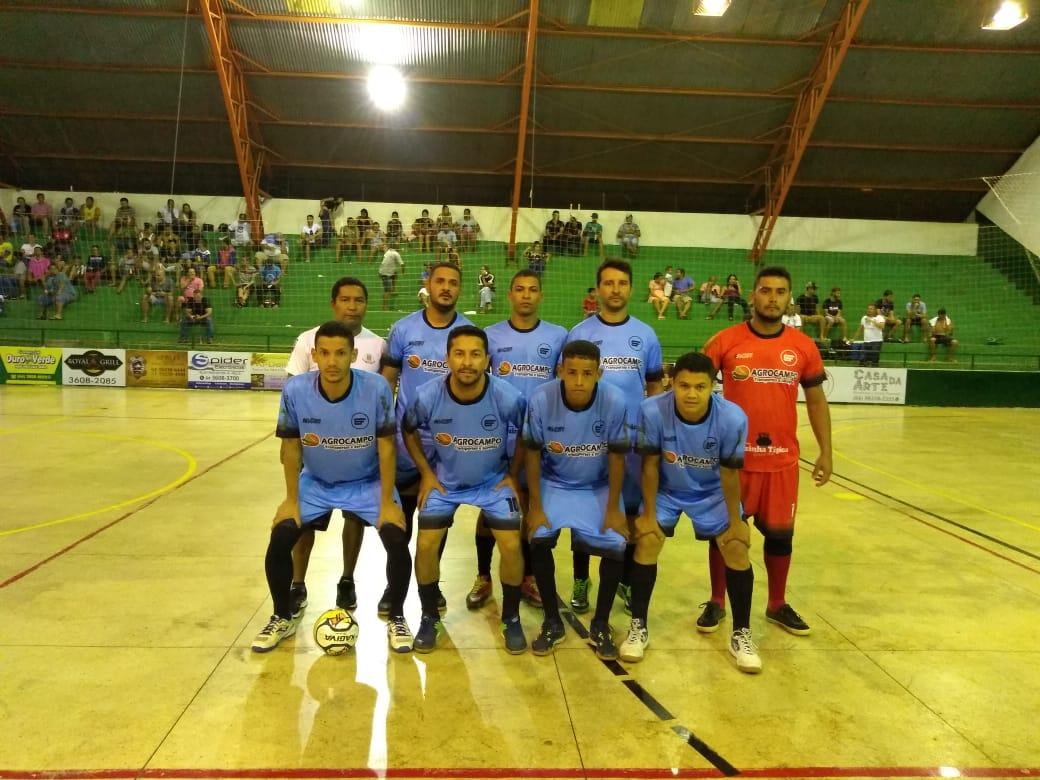 Metacampo/Brasil Mangueiras empata e se classifica em primeiro no Futsal de Bom Jesus