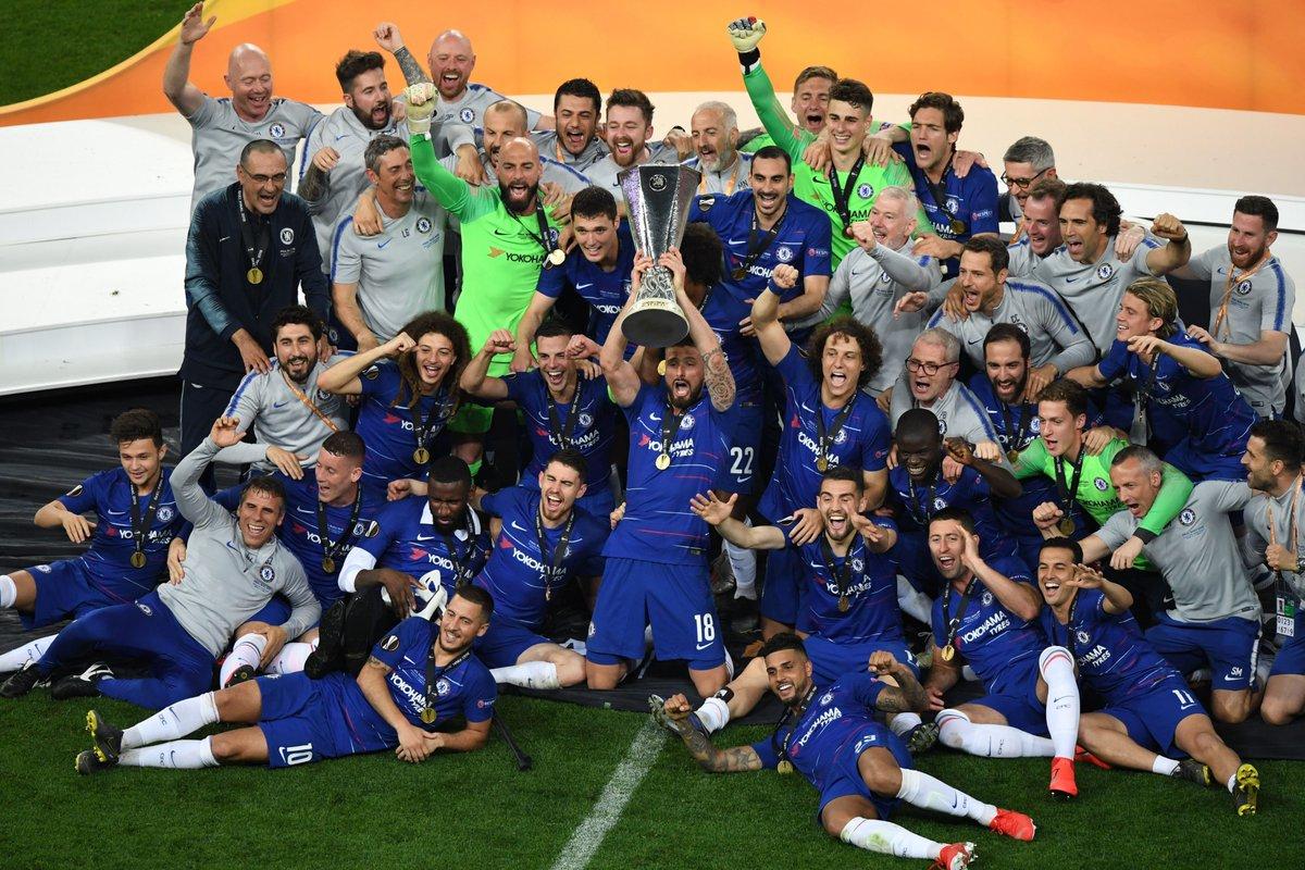 Chelsea goleia o Arsenal e garante título da Liga Europa