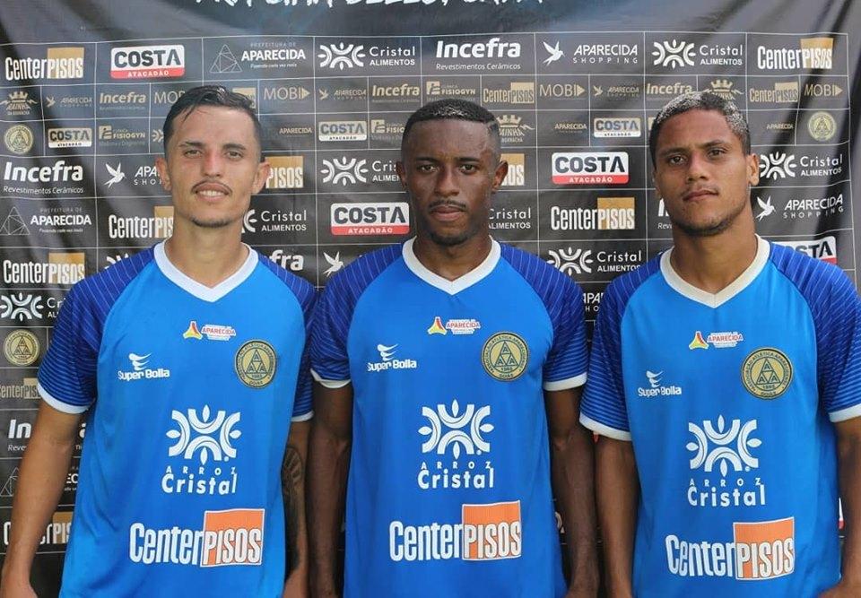 Aparecidense apresenta mais 4 jogadores para o Brasileiro da Série D