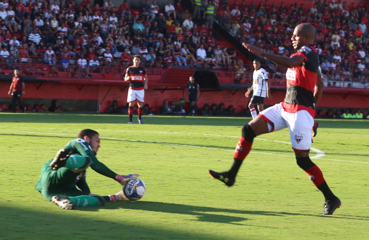 Atlético Goianiense empata em casa no Brasileiro da Série B