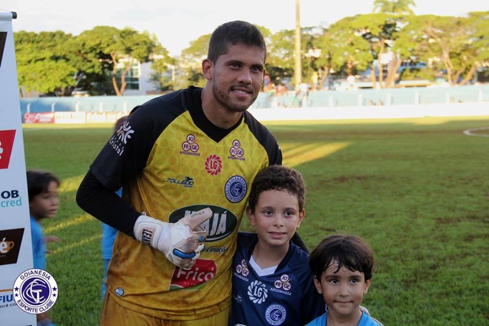 Rio Verde acerta com goleiro ex Goianésia