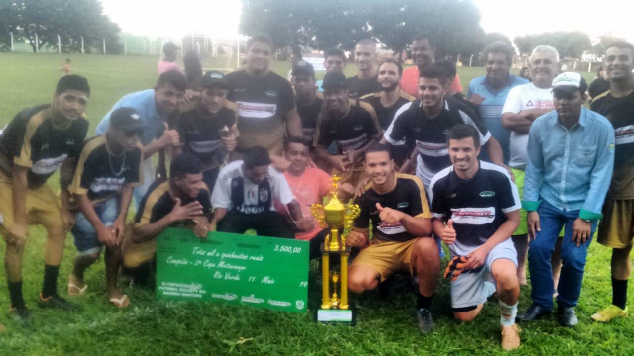 Rifertil conquista a 2ª Copa Metacampo de Futebol Society