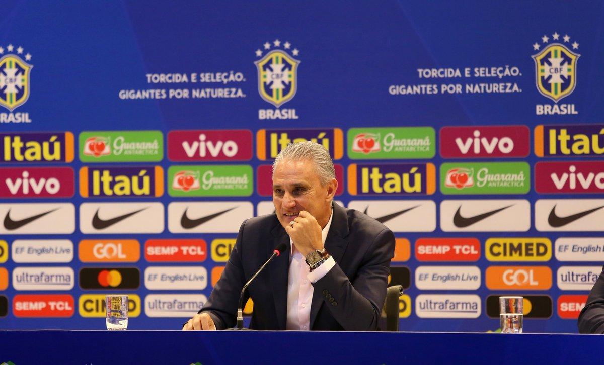 Tite convoca o Brasil para a Copa América