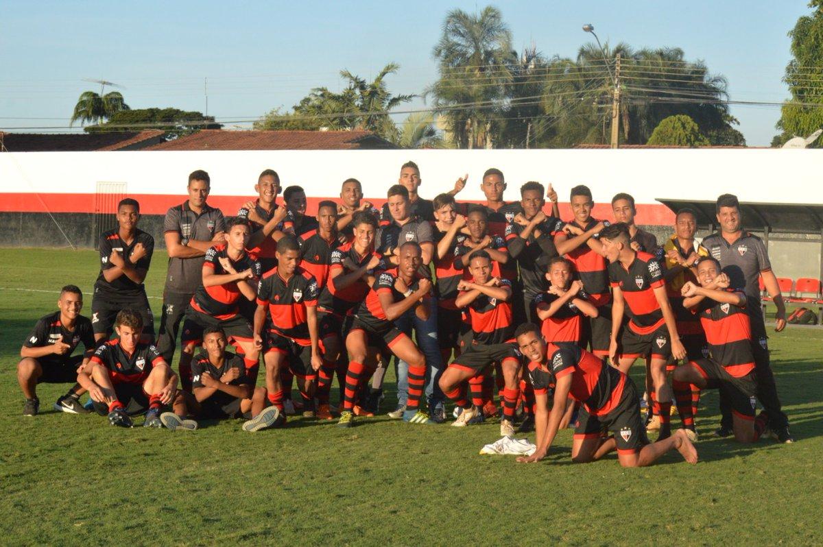 Atlético goleia a Aparecidense  e está na final do Goiano Sub-15