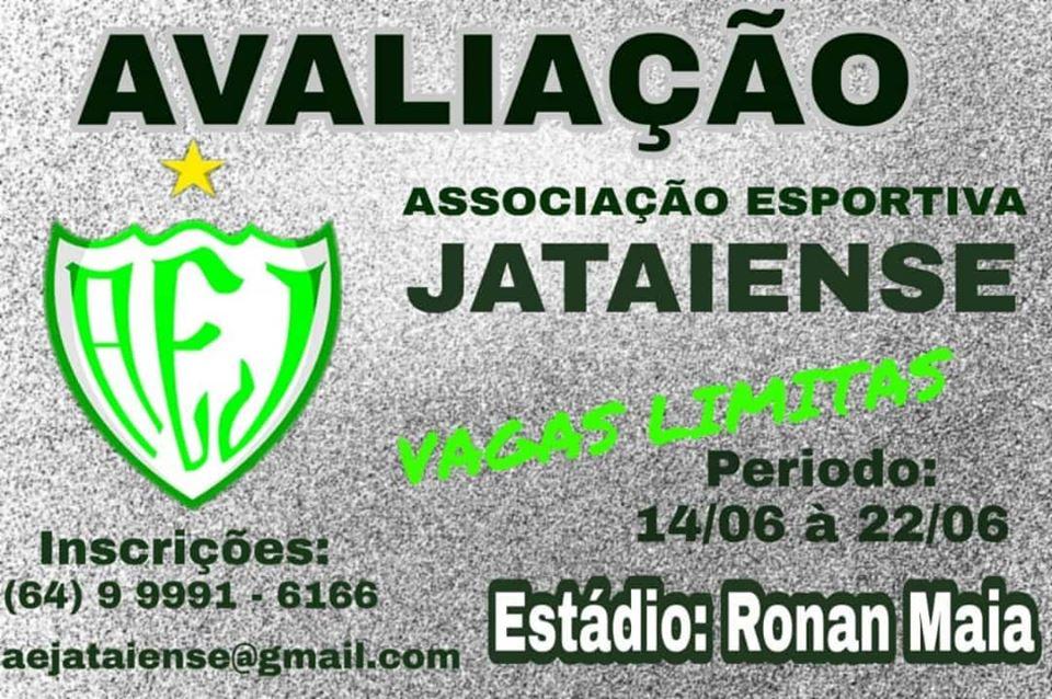 Jataiense fará avaliação técnica para selecionar jogadores para a Divisão de Acesso