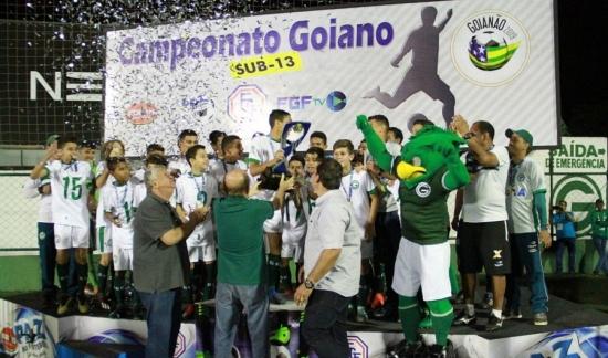 Goiás conquista o Campeonato Goiano Sub-13 de forma invicta