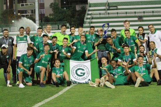Goiás conquista o título do Campeonato Goiano Sub-15