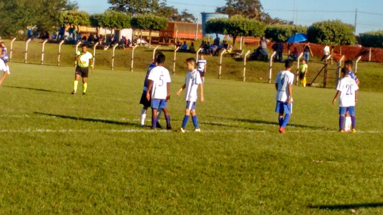 Independente e Ovel empatam no jogo de ida das semifinais do Campeonato Goiano Sub-13