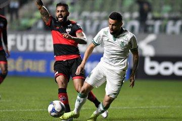 Atlético vence o América Mineiro fora de casa e entra no G4 da Série B