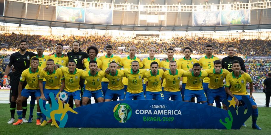 Brasil vence o Peru e volta a ser campeão da Copa América