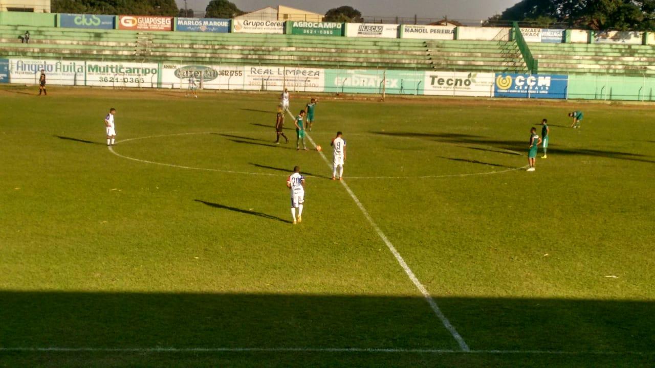 Rio Verde goleia o Itumbiara em mais um jogo treino