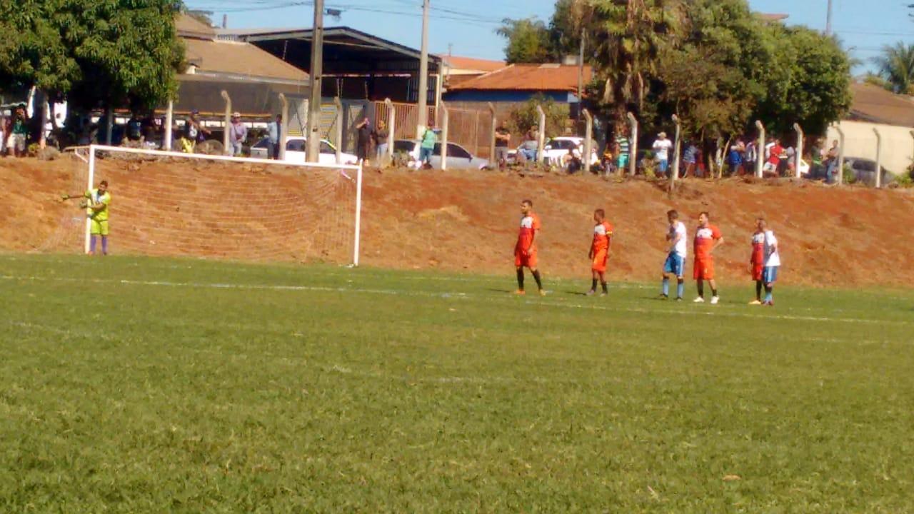 Ouroana vence o Sete Estrela no jogo de ida das semifinais da Série A1 de Rio Verde