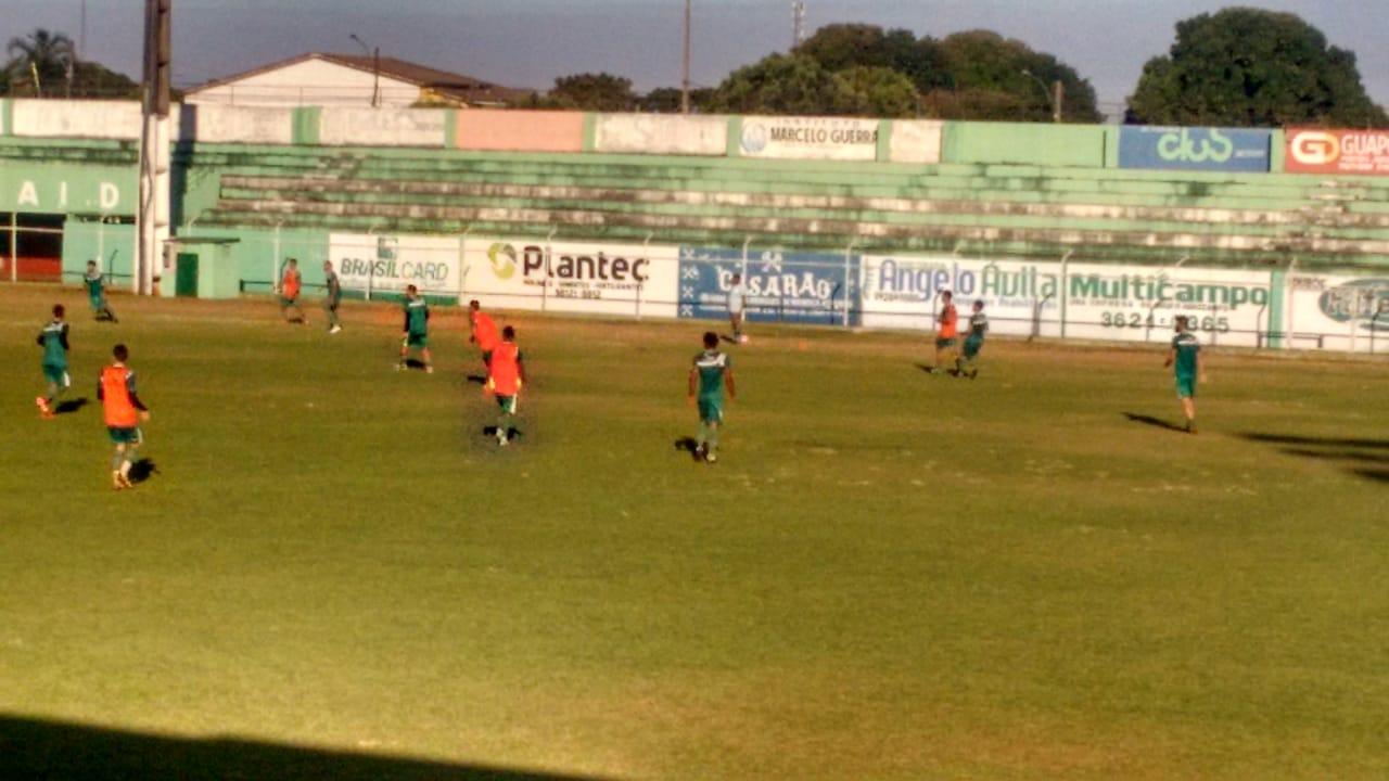 Rio Verde realizou mais um treinamento coletivo