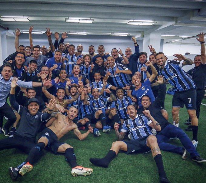 Grêmio bateu o Palmeiras e está na semifinal da Libertadores