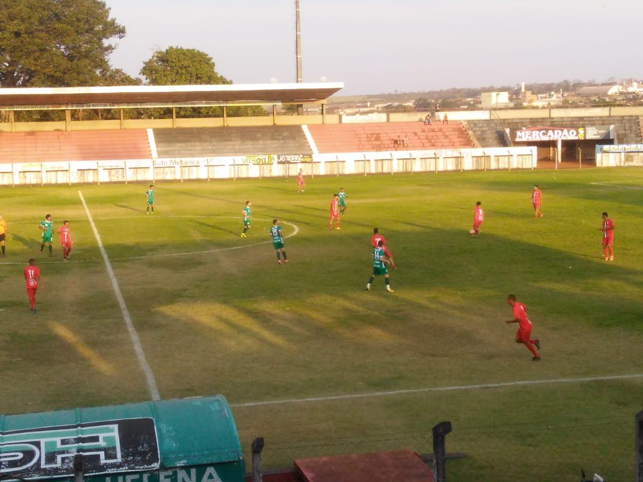 Rio Verde vence o Santa Helena em último jogo amistoso