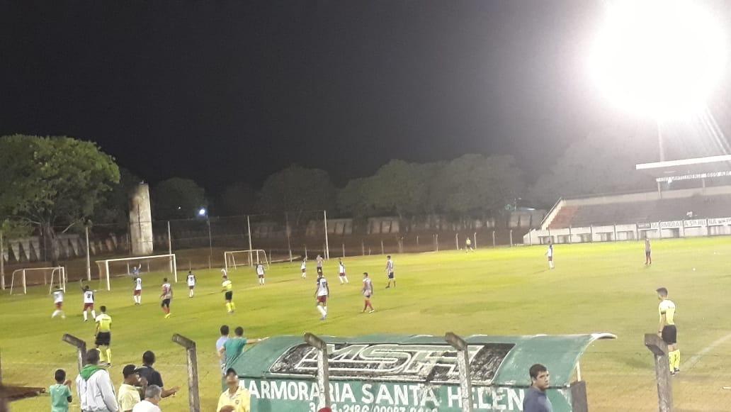 Santa Helena goleia o Atlético Rioverdense pela Terceira Divisão Goiana