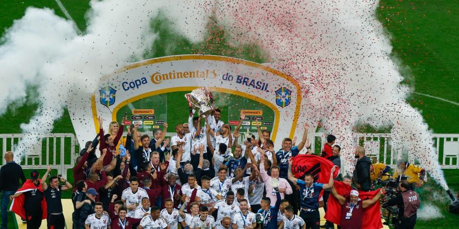 Athletico Parananense conquista pela primeira vez a Copa do Brasil
