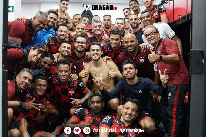 Atlético Goianiense e Vila Nova venceram ontem a noite na Série B