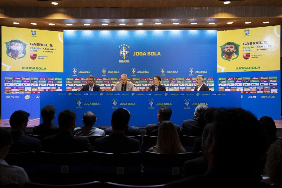 Tite convoca o Brasil para os amistosos de outubro