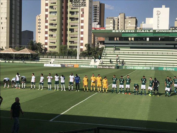 Goiás vence a Luverdense e se classifica para as semifinais da Copa Verde