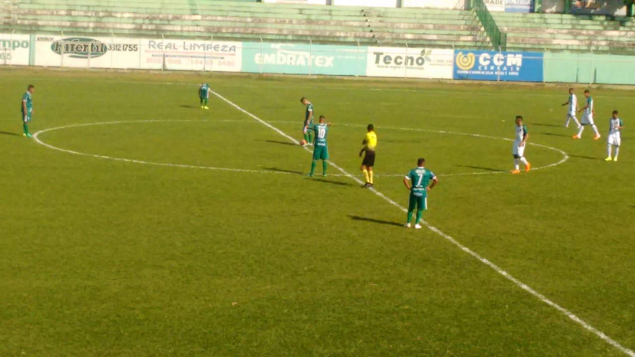 Rio Verde perde em casa para o Goiás no Sub-20