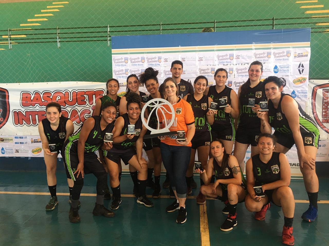 URB conquista o vice campeonato na Copa Caldas Novas de Basquete Feminino