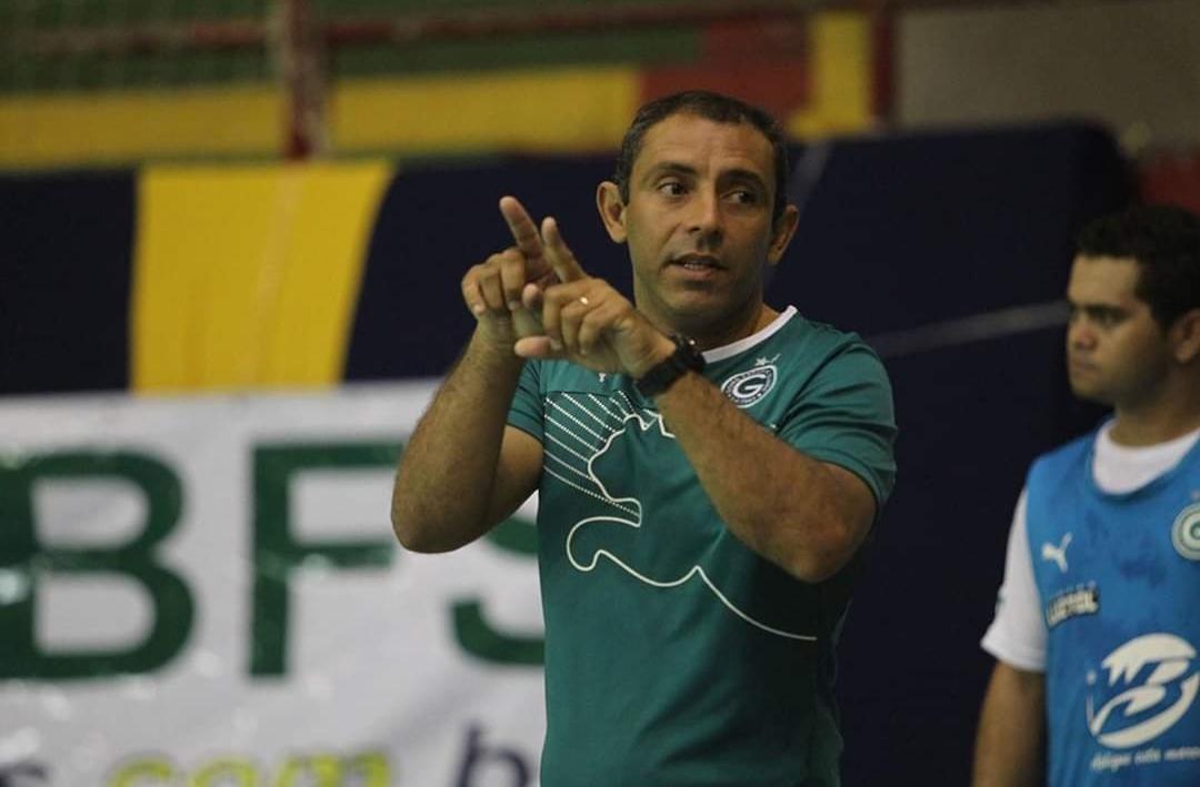 Cesar Paraíba será o treinador da Seleção Goiana de Futsal Sub-15