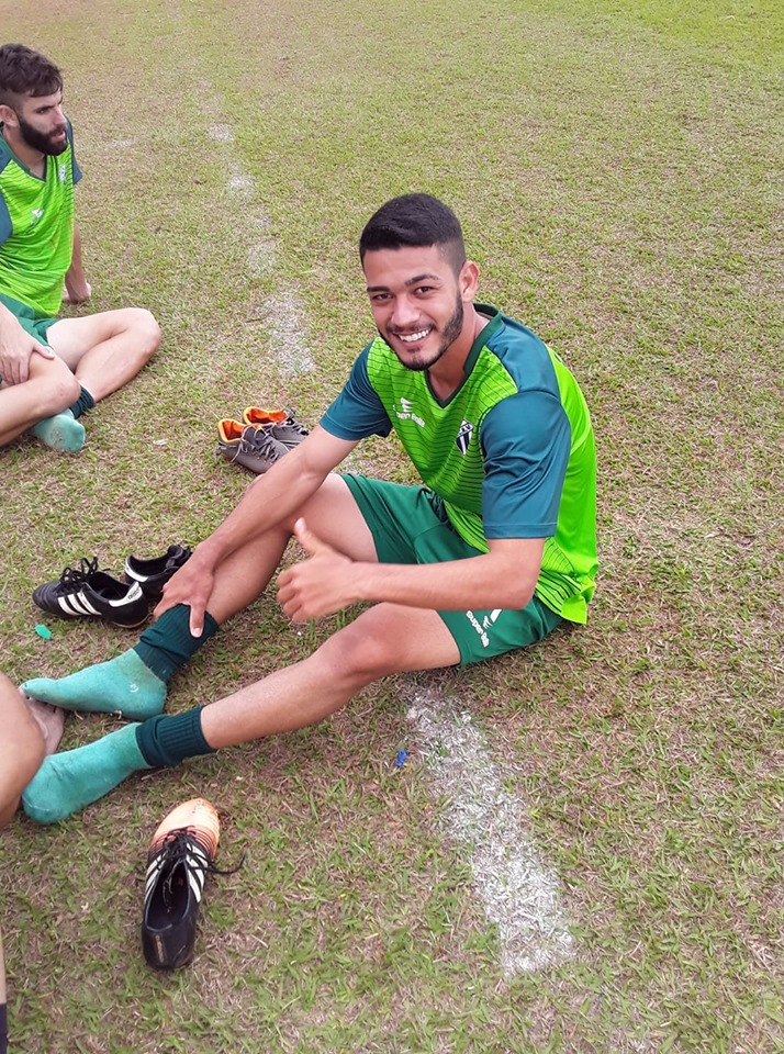 Rio Verde empresta meio campista Rangel para o Atlético Rioverdense