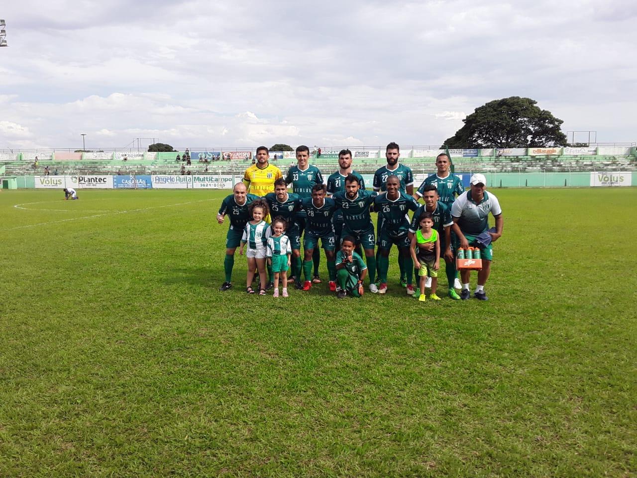 Rio Verde vence o Aparecida mas não consegue o acesso
