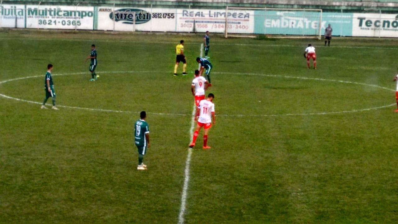 Rio Verde é goleado em casa pela Anapolina na Copa Goiás Sub-20