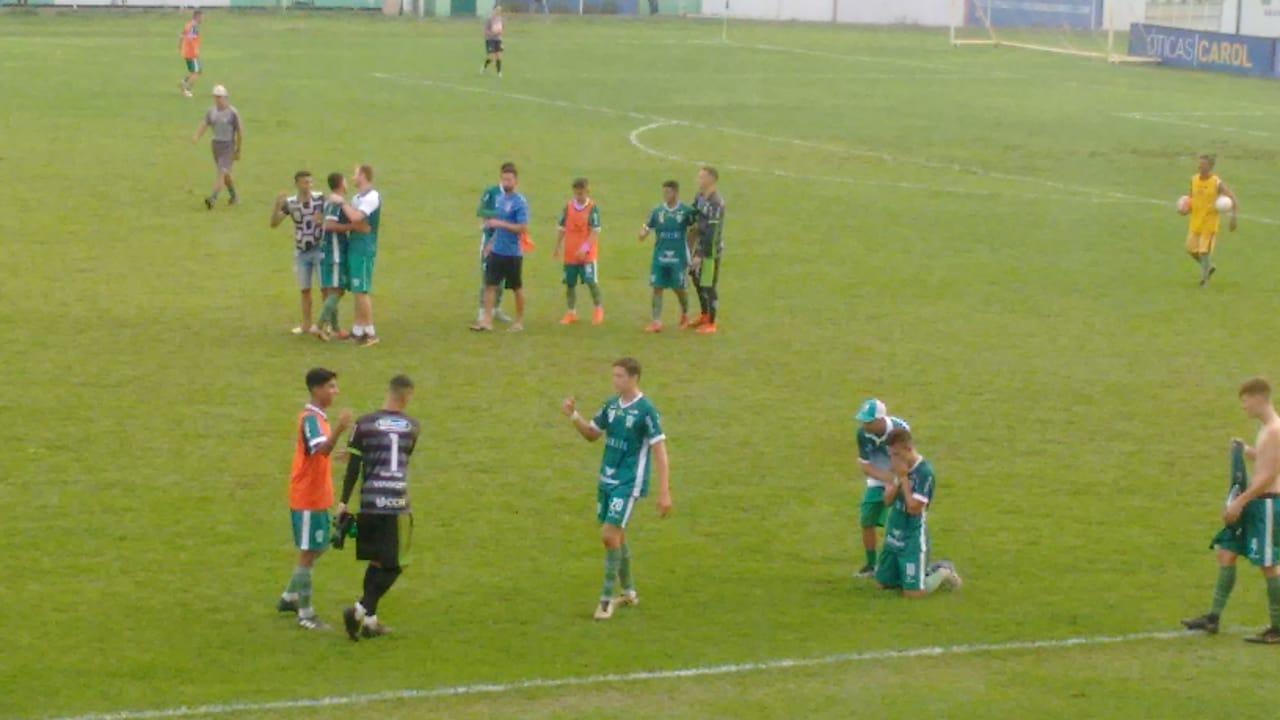 Rio Verde vence o Santa Helena e escapa do rebaixamento no Sub-20