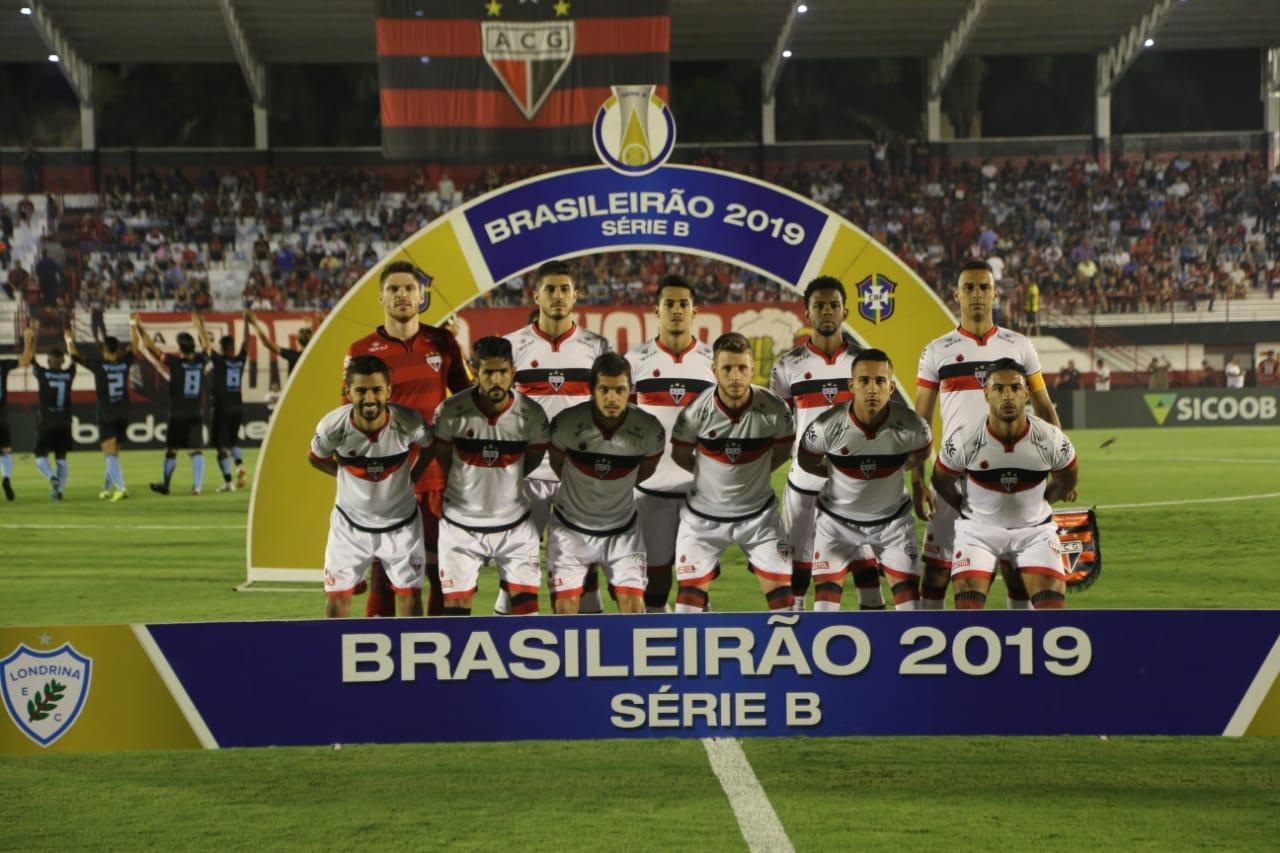Atlético Goianiense vence o Londrina, já o Vila Nova empatou fora de casa