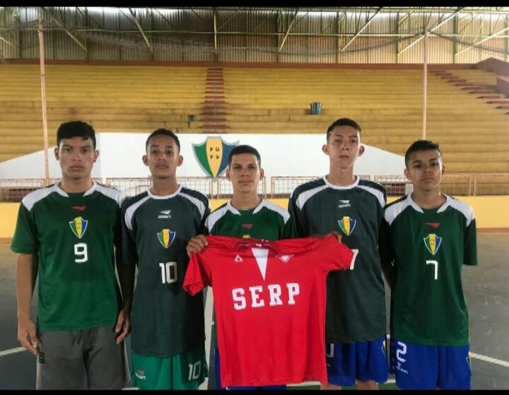 Com 5 jogadores da Serp, Seleção Goiana de Futsal Sub-15 segue se preparando para o brasileiro da categoria