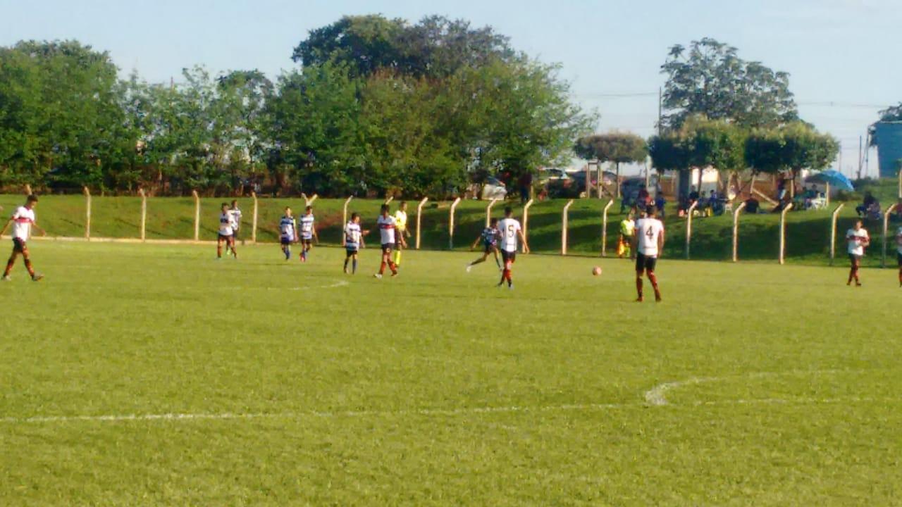 Atlético vence o Independente de Rio Verde no jogo de ida das semifinais da Copa Goiás Sub-13