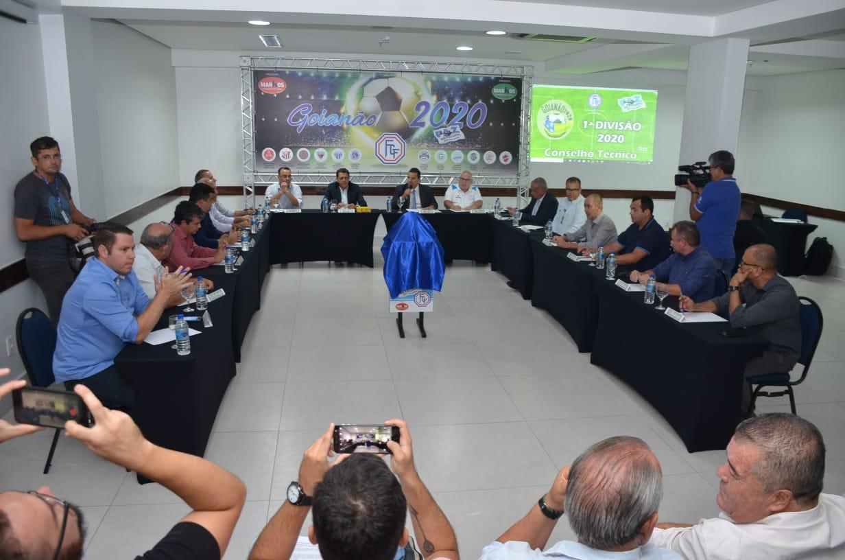 Confira os grupos do Campeonato Goiano de 2020