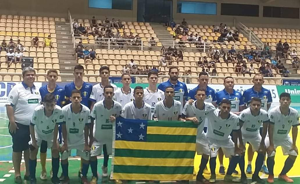 Seleção Goiana de Futsal estreia  com vitoria no Campeonato Brasileiro Sub-15