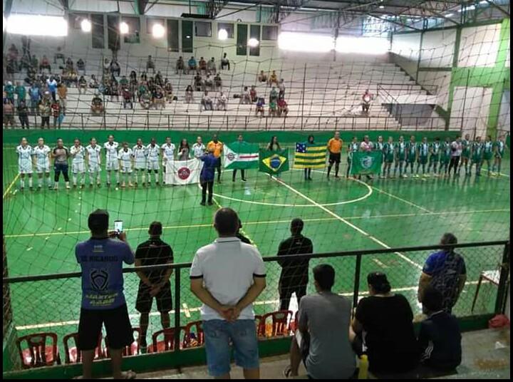 Clube Campestre/Resenhas e Goiás/Universo empatam no jogo de ida da Final do Goiano de Futsal Feminino