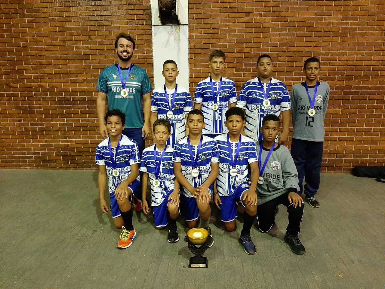 AERV- Handebol conquista cinco títulos no Campeonato Goiano
